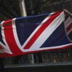 Skidanje britanske zastave ispred zgrade Evropskog parlamenta