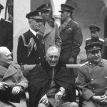Čerćil, Ruzvelt i Staljin na Jalti
