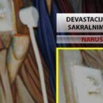 Detalj za koji Bogdanović tvrdi da je u manastiru u Pljevljima